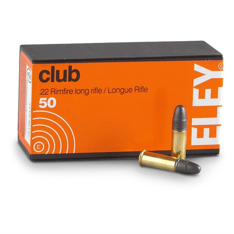 ELEY Ammunition CLUB .22LR