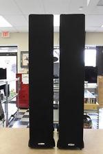 Polk Audio TSi400 BLACK Floorstanding Tower Speakers PAIR