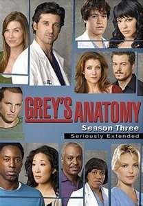 GREY'S ANATOMY SEASON THREE SERIOUSLY EXTENDED (2007)