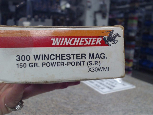 WINCHESTER Ammunition 300 WINCHESTER MAG.