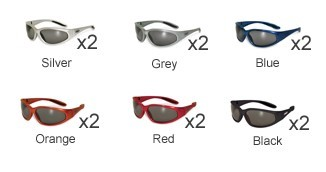 GLOBAL VISION EYEWEAR Sunglasses/safety HERCULES CF SM