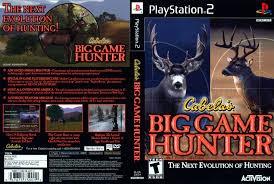 SONY Sony PlayStation 2 Game CABELAS BIG GAME HUNTER