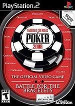 SONY Sony PlayStation 2 WORLD SERIES OF POKER 2008 BATTLE FOR THE BRACELET