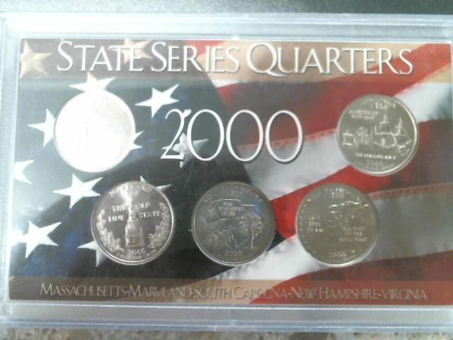 STATEHOOD QUARTERS COLLECTION Mint Set SERIES QUARTERS 2000