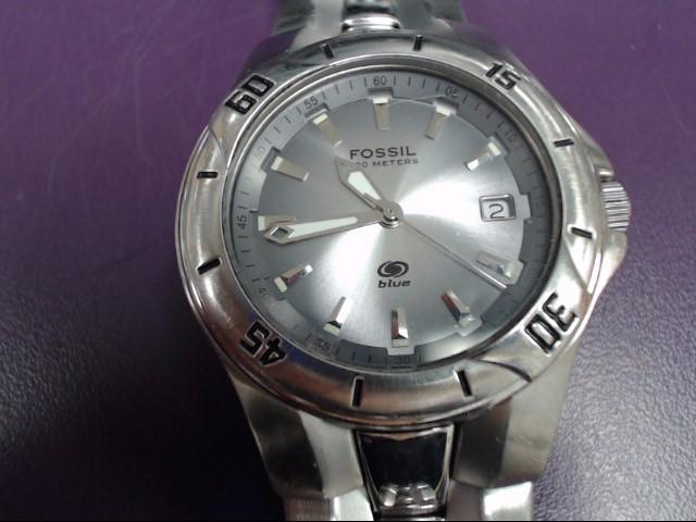 FOSSIL Gent's Wristwatch BLUE AM-3723