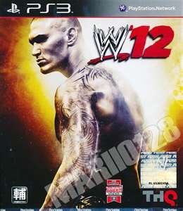 SONY Sony PlayStation 3 Game WWE 12