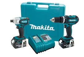 MAKITA Combination Tool Set LXT211 18V DRIVER DRILL KIT