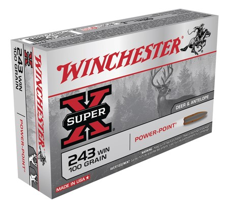 WINCHESTER Ammunition SUPER X .243 WIN