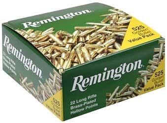 REMINGTON AMMUNITON Ammunition .22 LR GOLDEN BULLET VALUE PACK 525