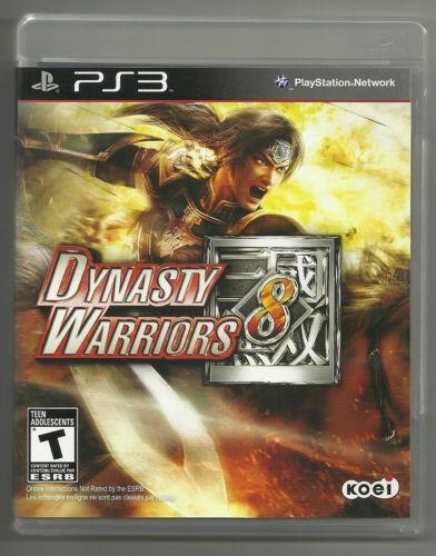 SONY Sony PlayStation 3 DYNASTY WARRORS 8