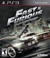 SONY Sony PlayStation 3 Game FAST AND FURIOUS SHOWDOWN