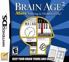 NINTENDO Nintendo DS Game BRAIN AGE 2