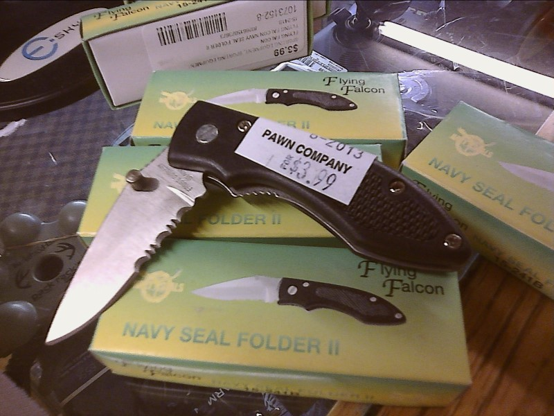 FROST CUTLERY Pocket Knife NAVY SEAL FOLDER II