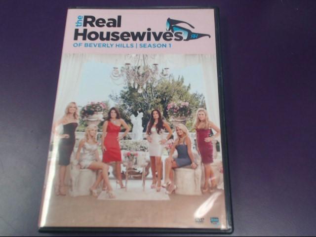 DVD BOX SET MODEL REAL HOUSEWIVES OF BEVERLY HILLS S1