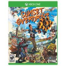 MICROSOFT Microsoft XBOX One Game SUNSET OVERDRIVE - XBOX ONE