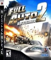 SONY Sony PlayStation 3 Game FULL AUTO Z BATTLELINES