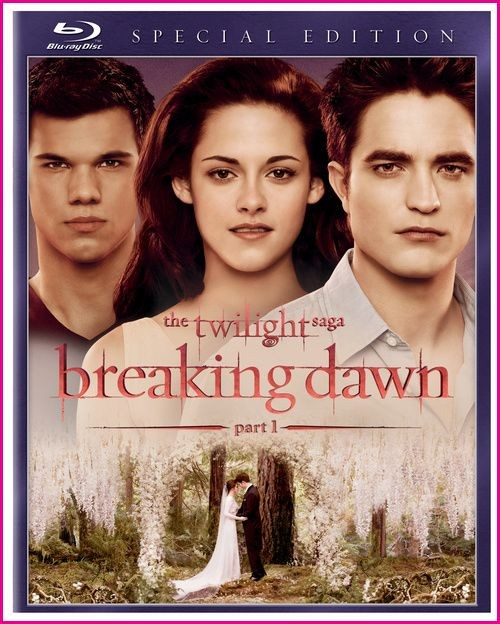 BLU-RAY MOVIE Blu-Ray THE TWILIGHT SAGA BREAKING DAWN PART 1