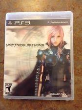 SONY Sony PlayStation 3 Game LIGHTNING RETURNS FINAL FANTASY XIII