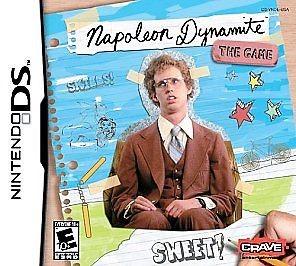NINTENDO Nintendo DS Game NAPOLEON DYNAMITE - THE GAME - DS