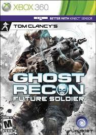 MICROSOFT Microsoft XBOX 360 Game GHOST RECON FUTURE SOLDIER