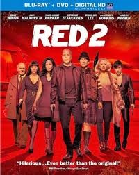 BLU-RAY MOVIE Blu-Ray RED 2