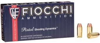 FIOCCHI AMMUNITION Ammunition .40 S&W 170 GR FMJ 50/BOX