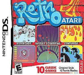 NINTENDO Nintendo DS Game RETRO ATARI DS