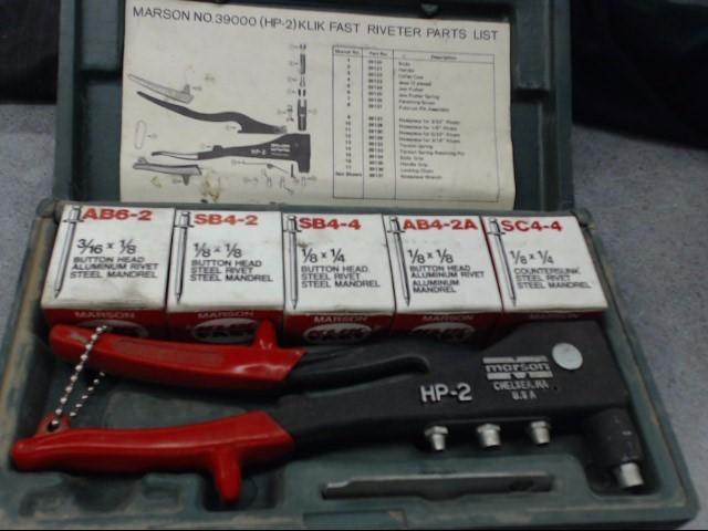 MARSON CORPORATION Miscellaneous Tool HP-2