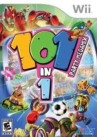 NINTENDO Nintendo Wii Game 101 IN 1 PARTY MEGAMIX