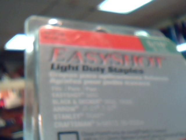 POWERSHOT TOOL COMPANY Miscellaneous Tool EASYSHOT LIGHT DUTY STAPLES 8MM