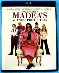 MADEA'S WINTNESS PROTECTION BLU-RAY DVD