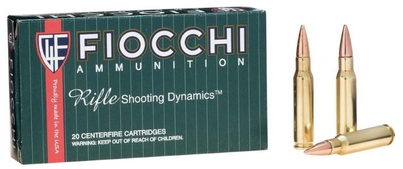 FIOCCHI AMMUNITION Ammunition .308 WIN 150 GR FMJ (308A)