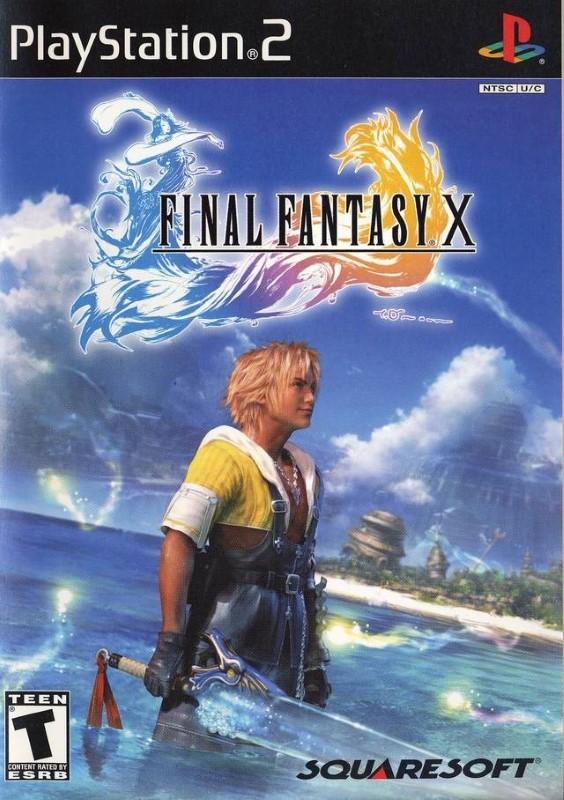 SONY Sony PlayStation 2 Game FINAL FANTASY X-PS2