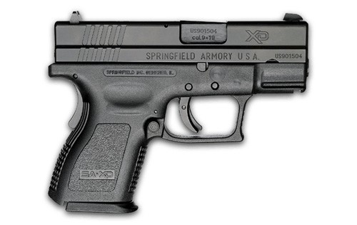 SPRINGFIELD ARMORY Pistol XD-9 SUB COMPACT