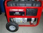 TROY BILT Generator 5500 WATT GENERATOR