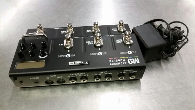 LINE 6 Effect Equipment M9 STOMPBOX MODELER
