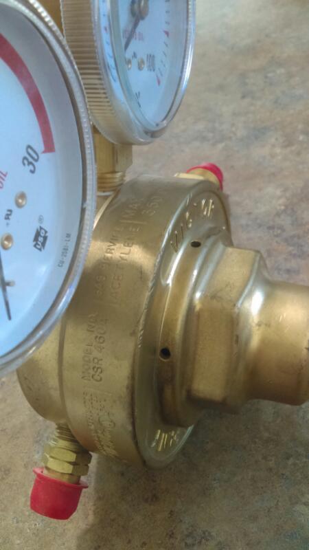 Victor Acetylene Regulator CSR460A