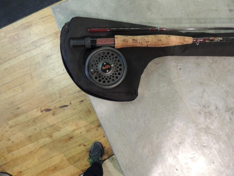 REDINGTON Fishing Rod & Reel RED START ROD/REEL