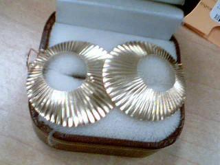 Gold Earrings 10K Yellow Gold 1.5g