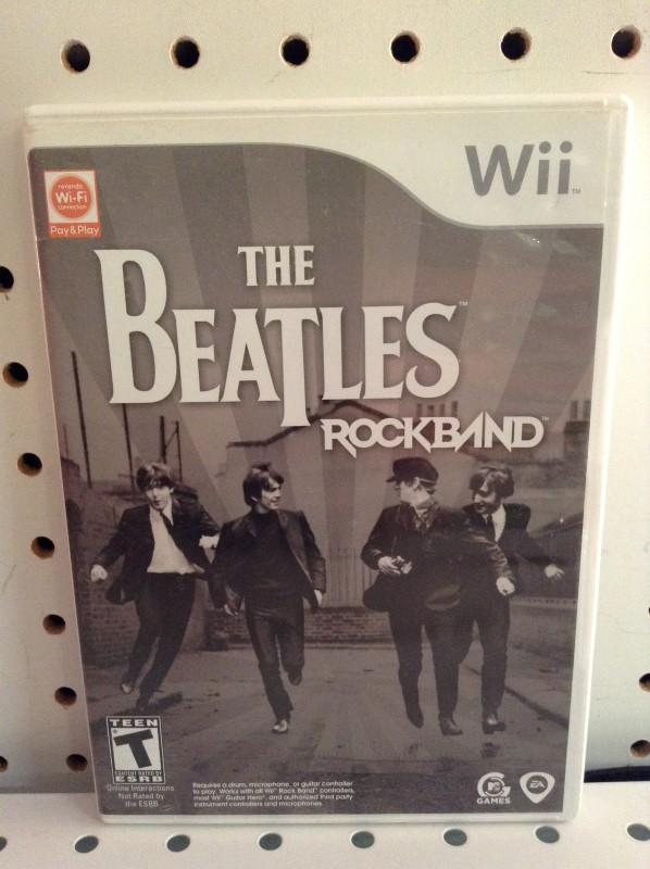 NINTENDO Nintendo Wii Game THE BEATLES ROCKBAND