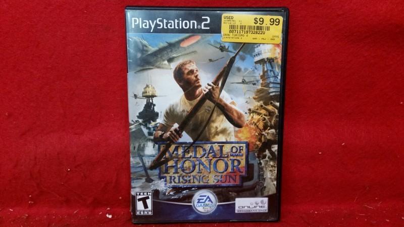 Medal of Honor Rising Sun (PS2, Playstation 2)