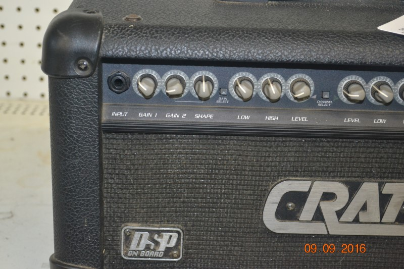 CRATE AUDIO Electric Guitar Amp DSP GFX-15
