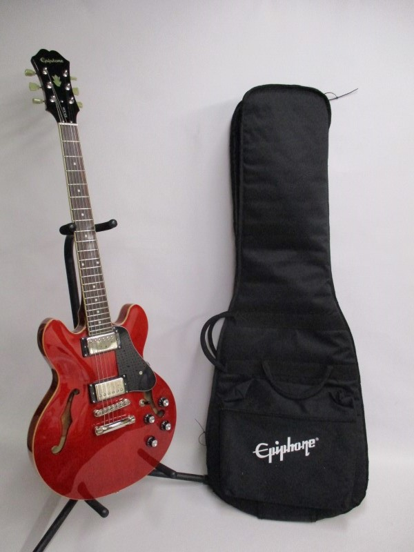 EPIPHONE DOT ES-339 CHERRY - USED - EXCELLENT