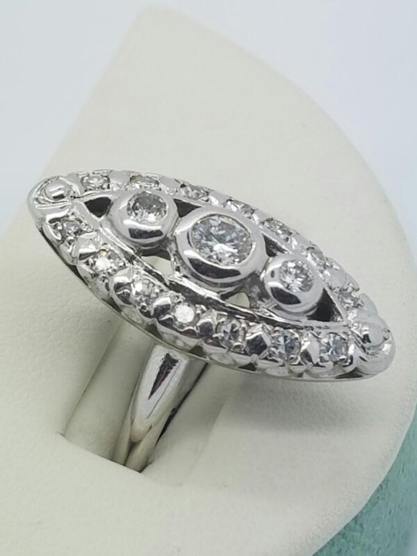 DIAMOND Lady's Diamond Fashion Ring DIAMOND_RING 10 Diamonds .54 Carat T.W.