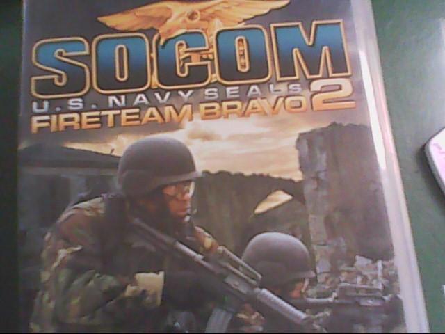 SONY PSP SOCOM US NAVEY SEALS 2