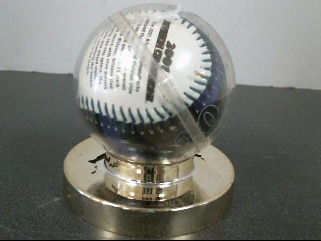 ARIZONA DIAMONDBACKS Sports Memorabilia 2001 WORLD SERIES CHAMPIONS