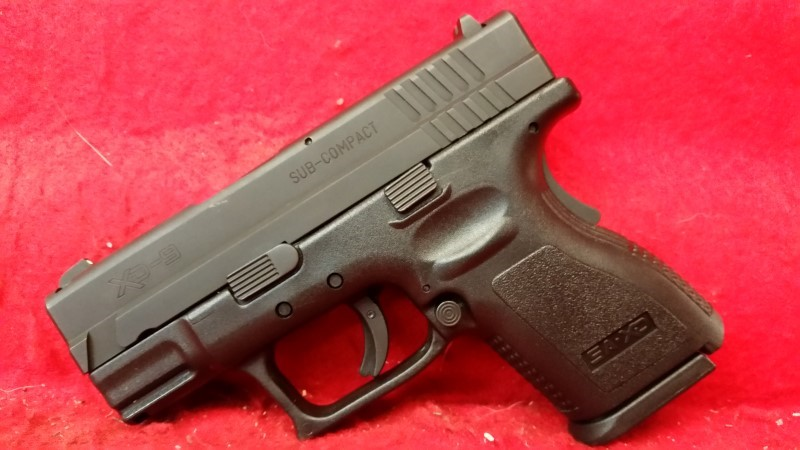 Springfield XD9 Sub-Compact 9mm Pistol - Includes Gear Package