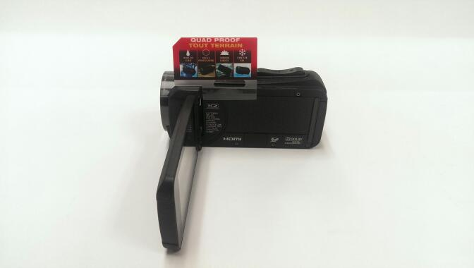 JVC Everio Full HD Quad Proof Camcorder | Pre Owned