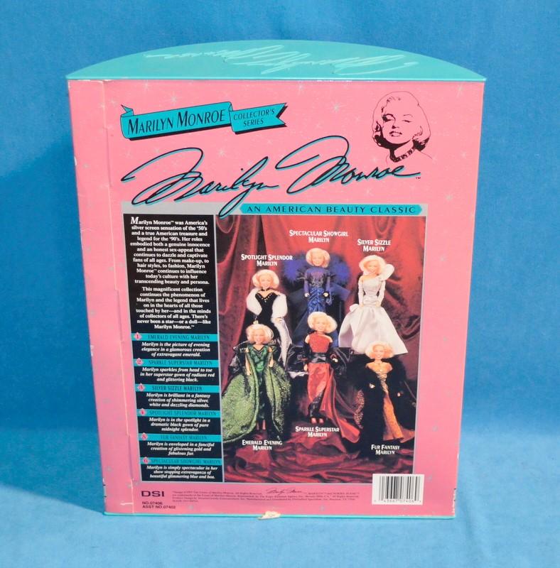 MARILYN MONROE Doll 07406 Spotlight Splendor Marilyn