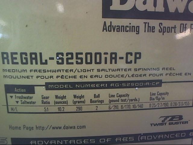 DAIWA REGAL-S2500IA-CP FISHING REEL